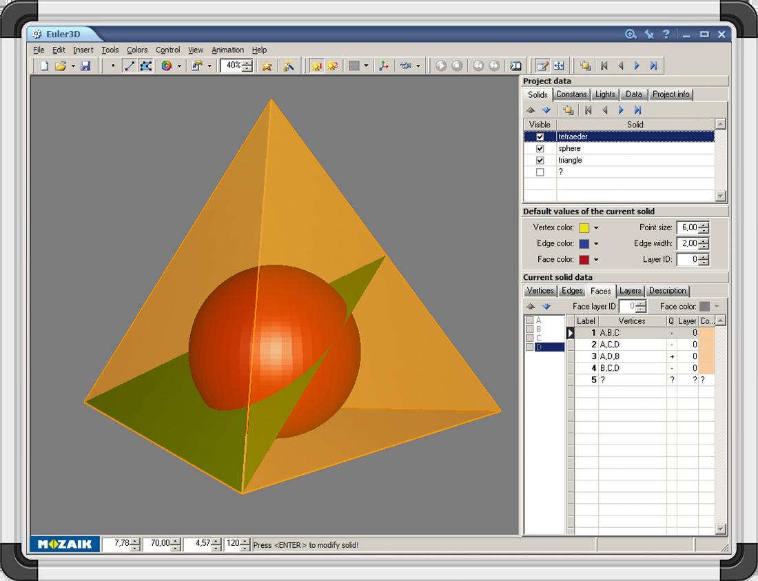 Software educational Euler3D