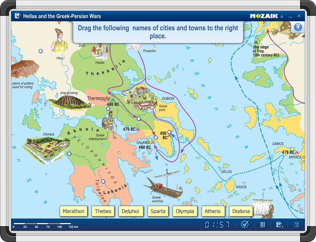 Atlas digital mozaMap