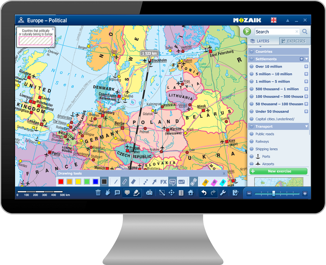 software educational geografie