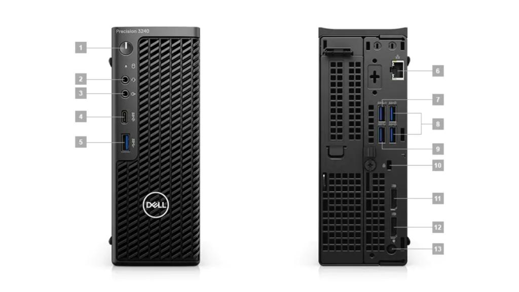 Statie de lucru Dell Precision 3240 CFF